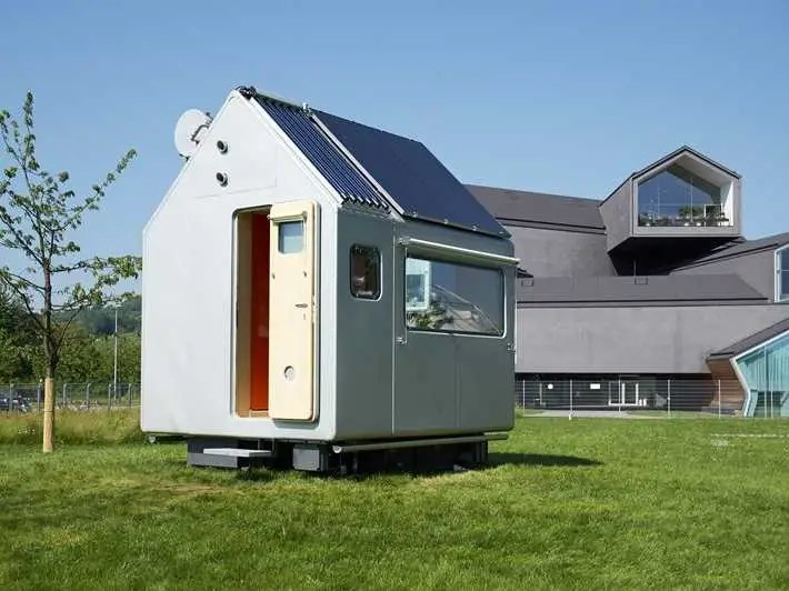 Famed architect Renzo Piano jumped into the tiny homes business with these 79-square-foot German models.