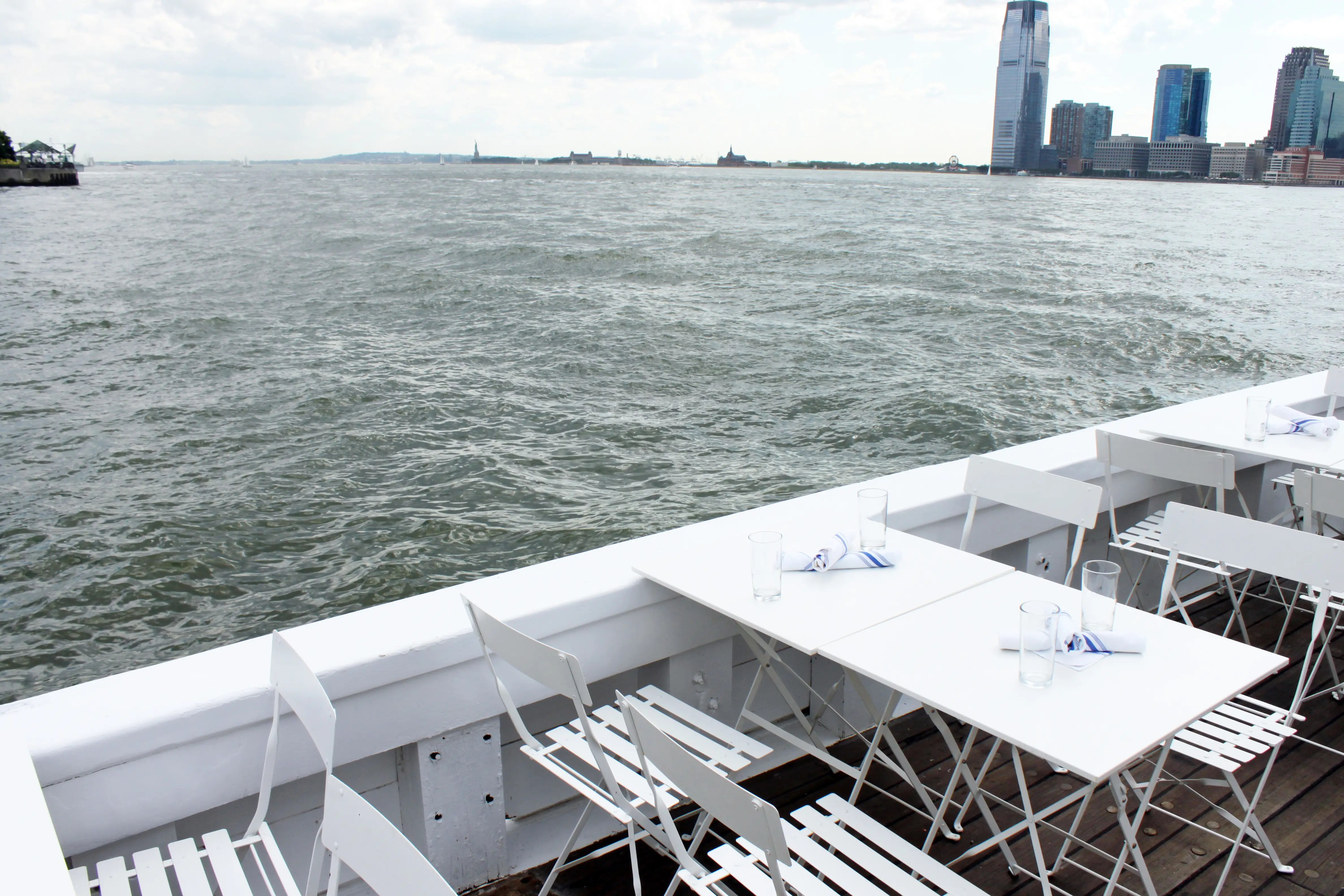 """We asked if the waves and rocking boat were even an issue. Owner Alex Pincus told us, """"Our crew is used to it and our guests usually get excited by it. I do think the rocking adds to the feeling of escape."""""""