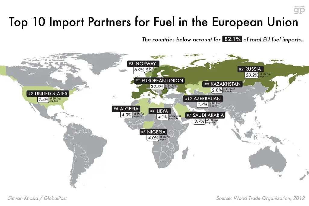 oil map