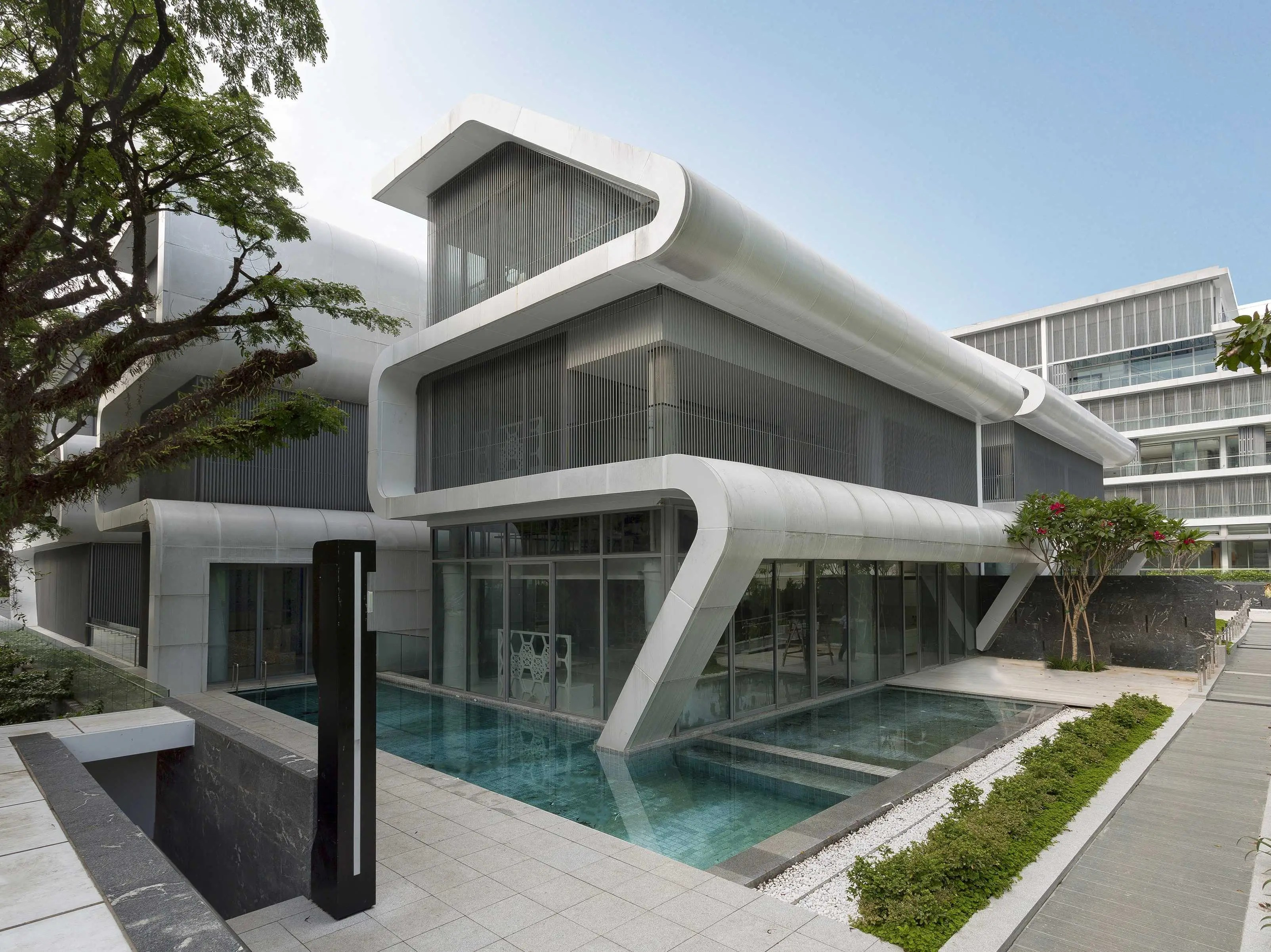 Oxley by LAUD Architects Inc, Singapore (shortlisted in Housing)