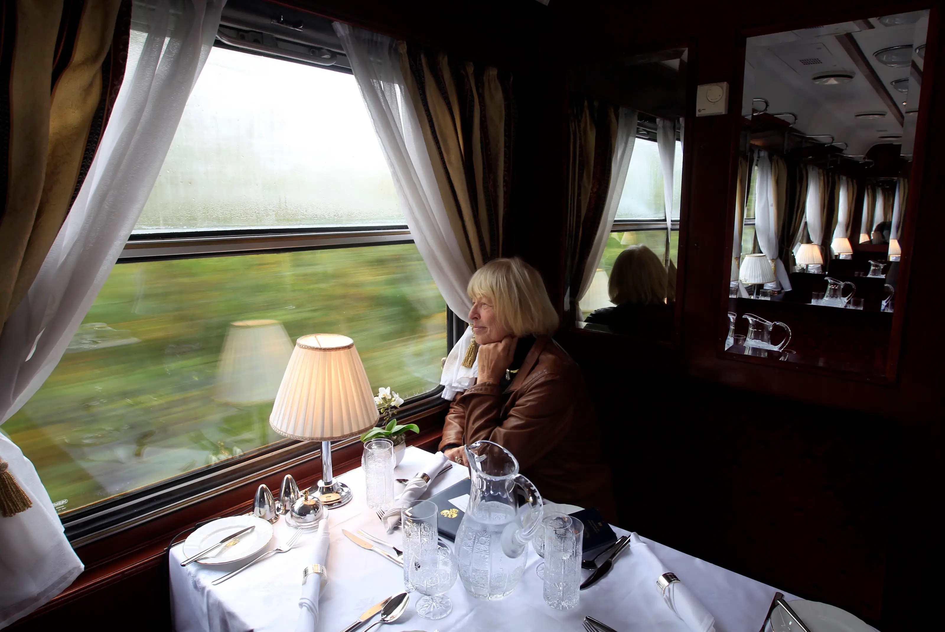 Luxury train travel normally costs between $1,000 and $2,000 a day according to Reuters, meaning the Golden Eagle train is actually sold at an average price. Any interest?