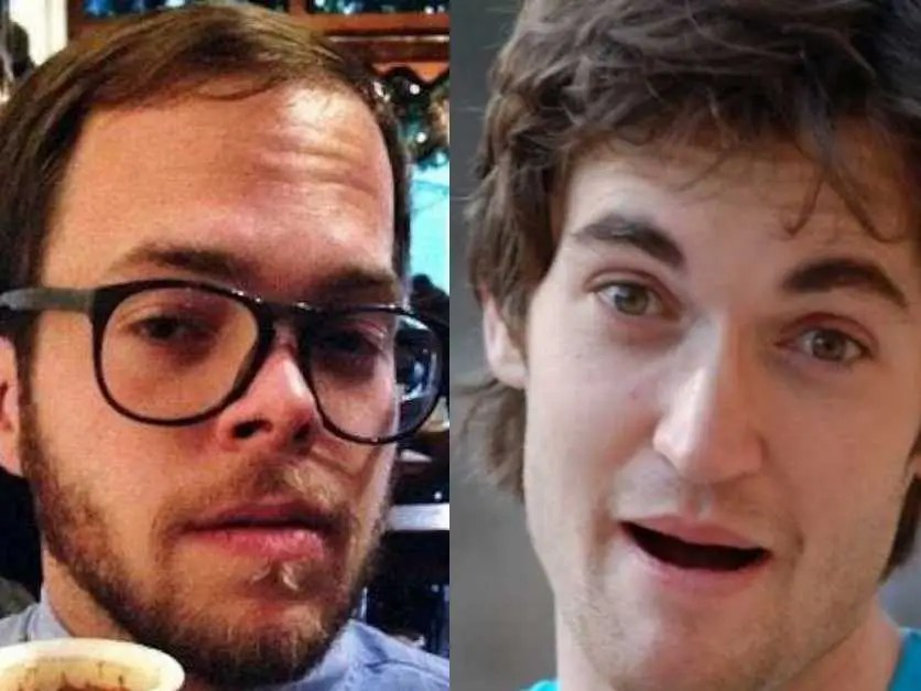 Blake Benthall and Ross Ulbricht