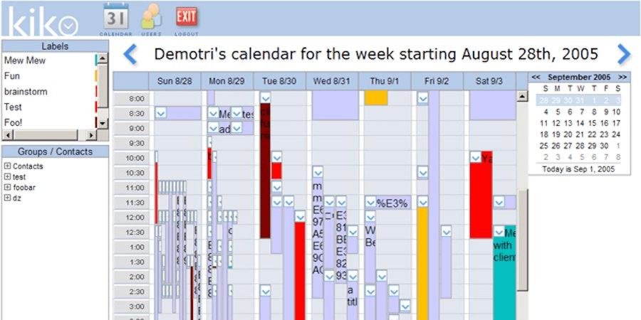 Kiko Calendar