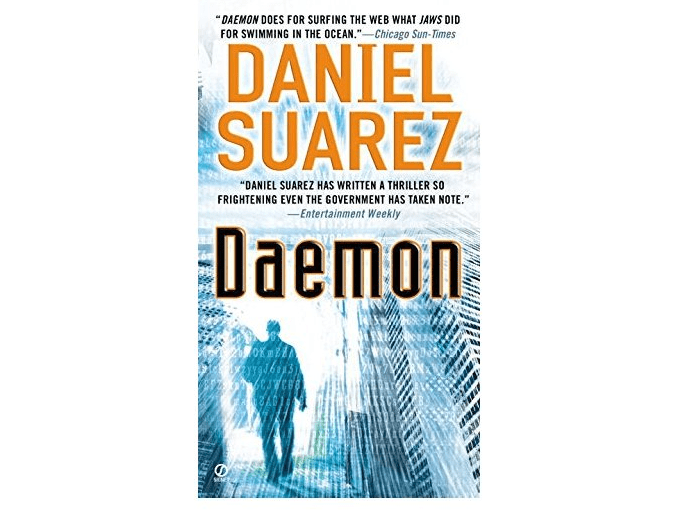 science fiction book saurez daemon