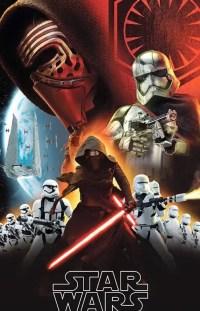 Kylo Ren karakterposters van Star Wars VII: The Force Awakens