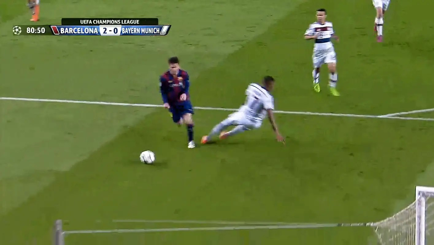 Lionel Messi Scores Sublime Solo Goal Against Bayern