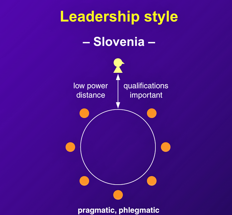 "Slovene leaders are ""characterized more by pragmatism than idealism or rhetoric."""