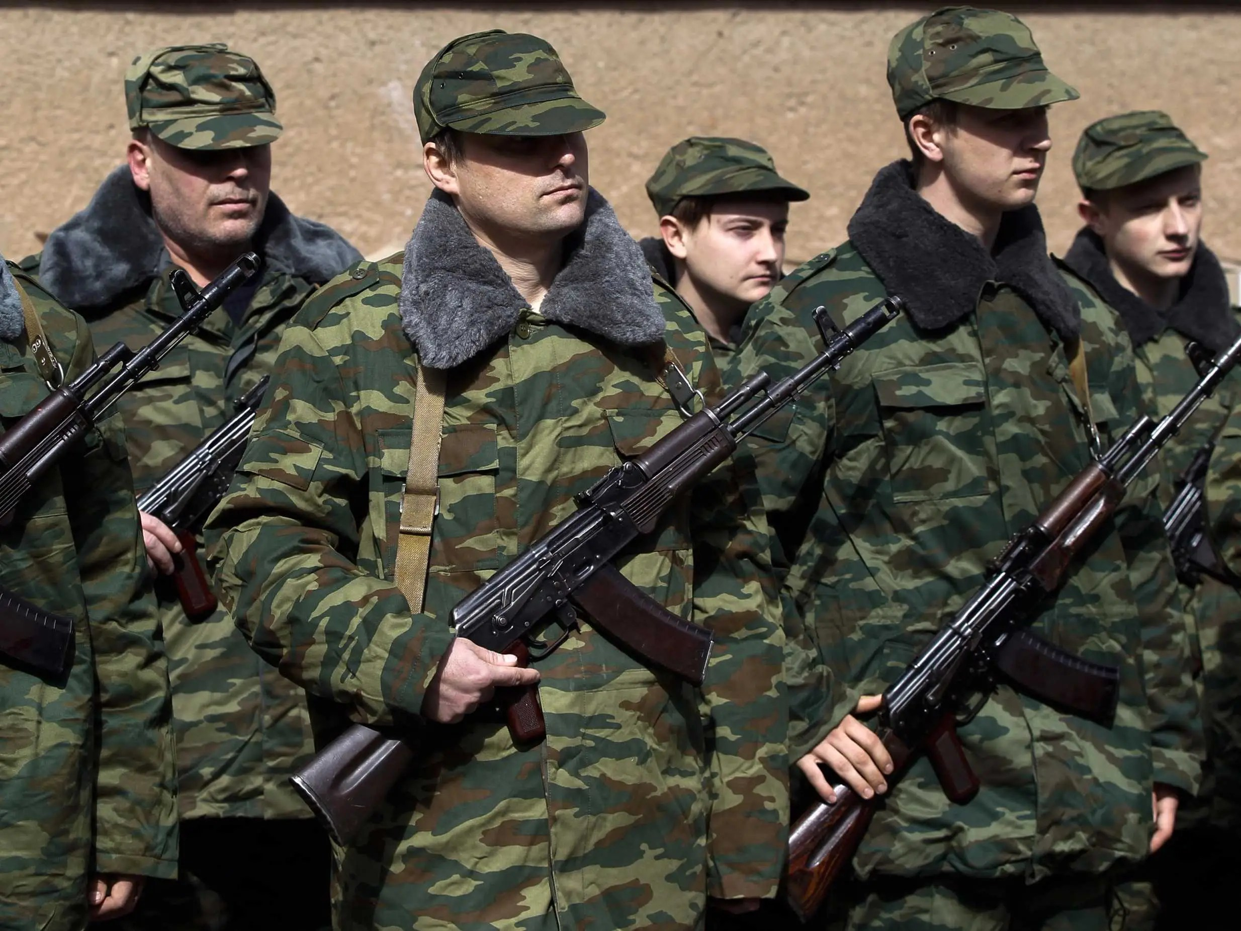 Russian Defense Forces Crimea