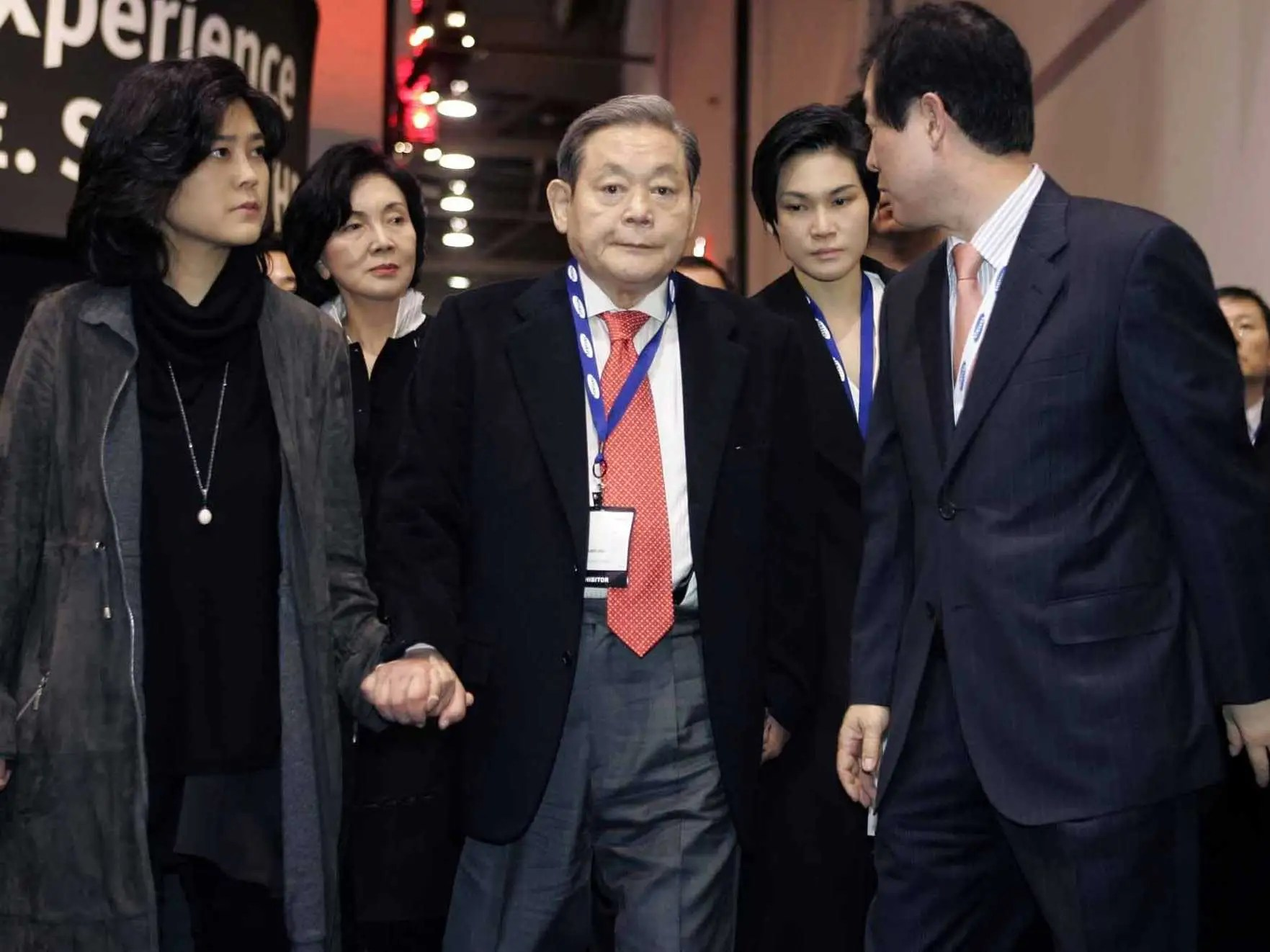 presidente de Samsung, Lee Kun Hee
