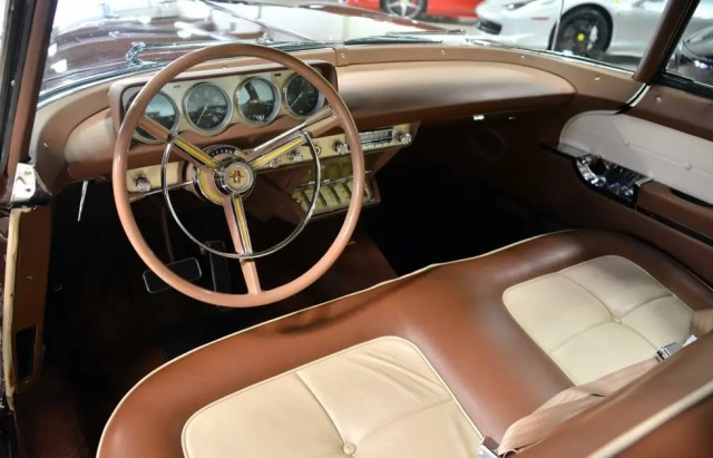 It has just over 29,000 miles but has undergone frame-off restoration, according to Fusion.
