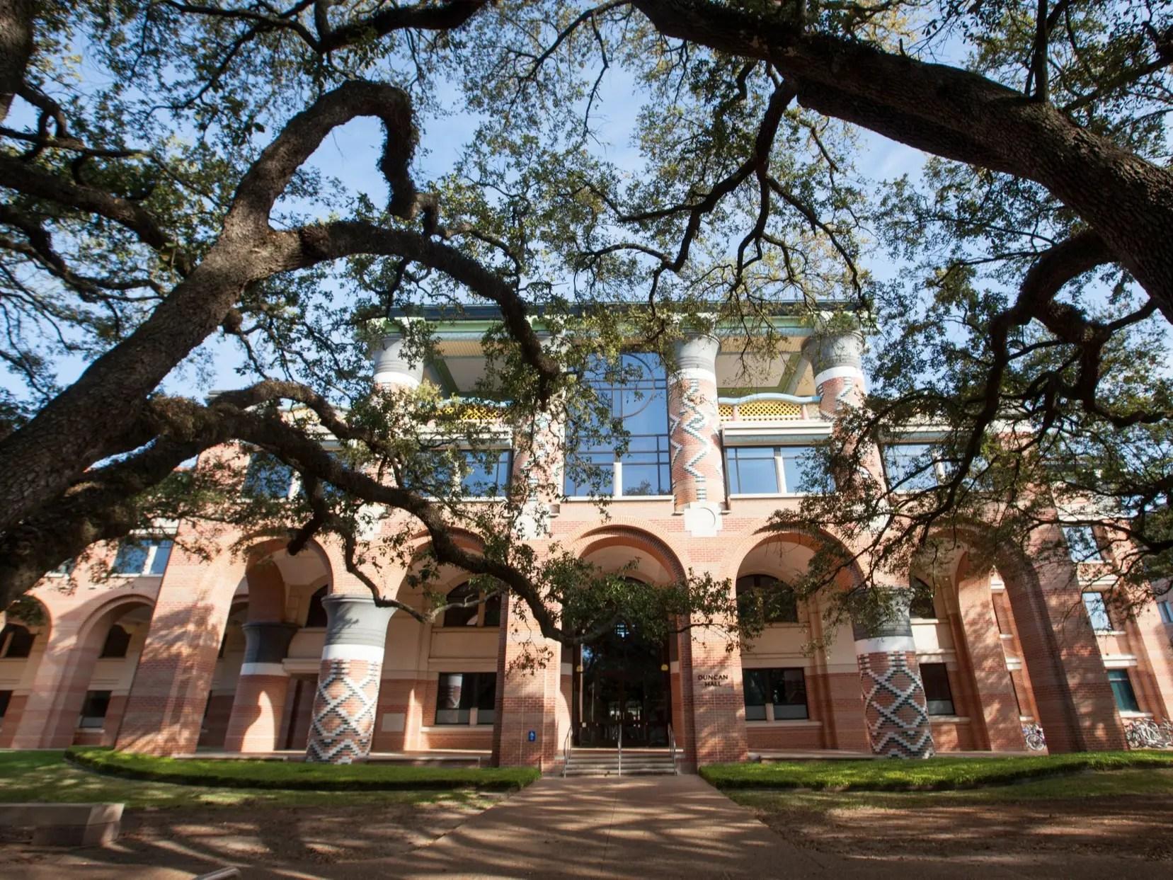 19 (TIE). Rice University