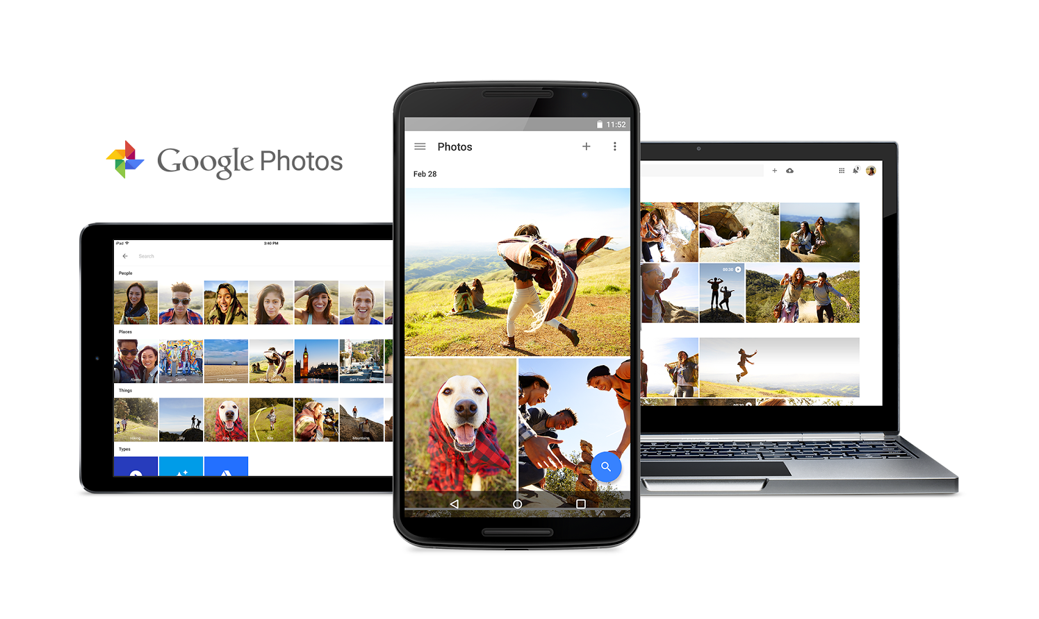 3. If you haven't already, download Google Photos to store all your photos in the cloud, then delete them all from your phone.