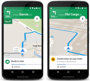 how Google predicting Traffic updates