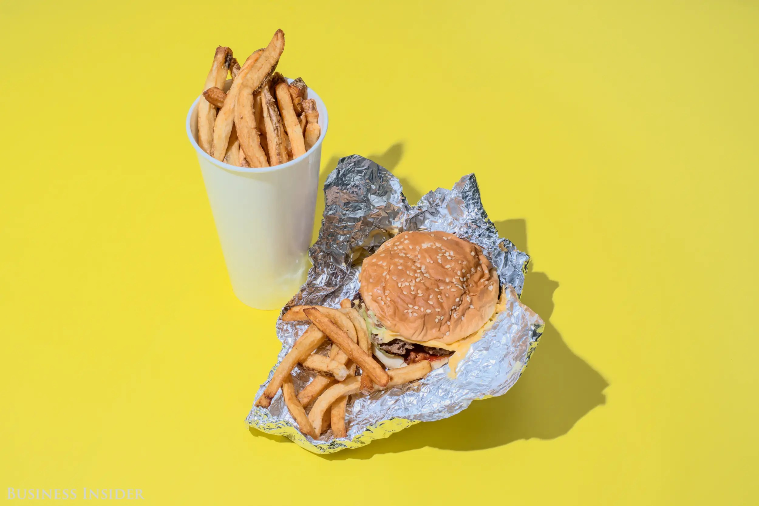 2 000 Calories Of Fast Food Meals