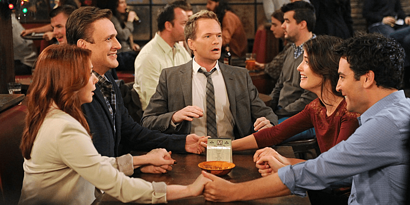 himym how i met your mother cast neil patrick harris jason segel josh radnor cobie smulders