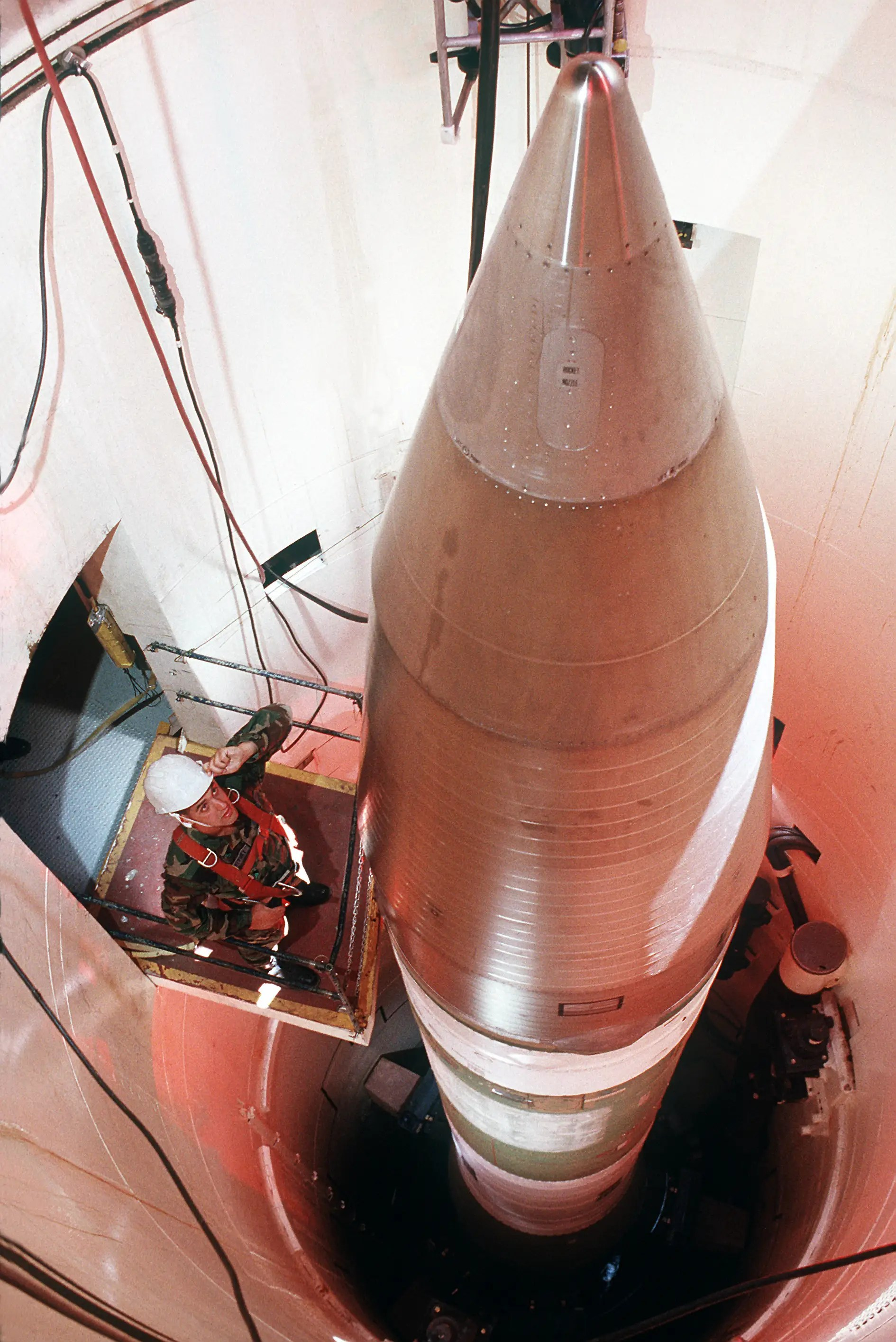 Minuteman III ICBM intercontinental ballistic missile