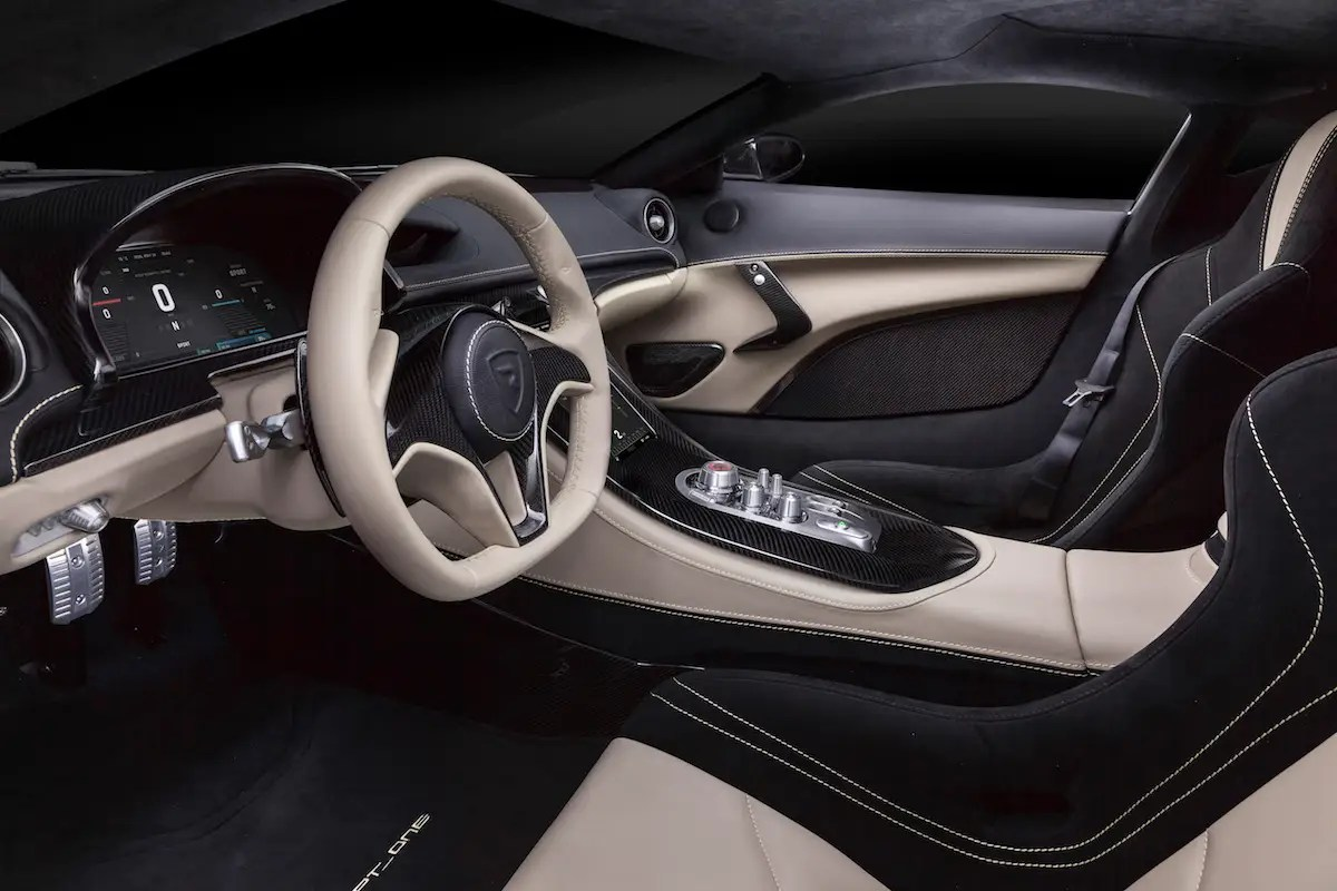 The Concept_One can reach a top speed of 185 miles per hour.