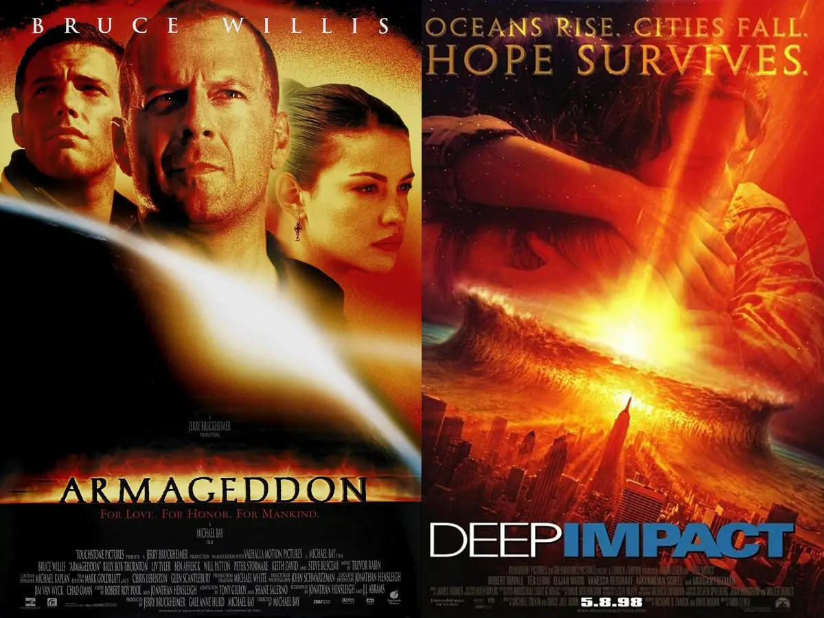 Hollywood loves death-by-asteroid.