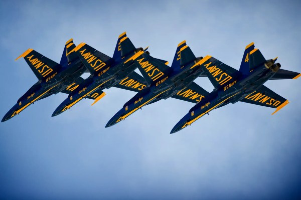 Nothing beats the precise art of America's Blue Angels and ...