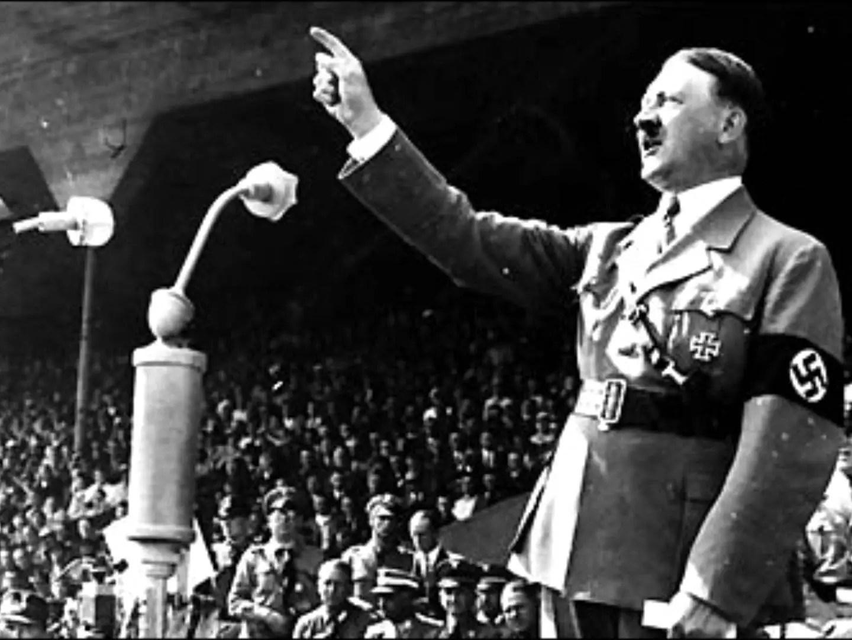 1. Adolf Hitler.