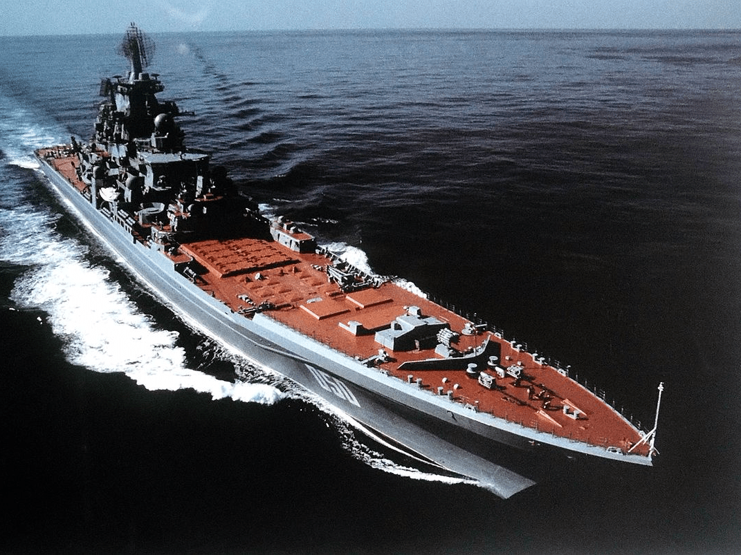 Kirov class battle cruiser russia navy