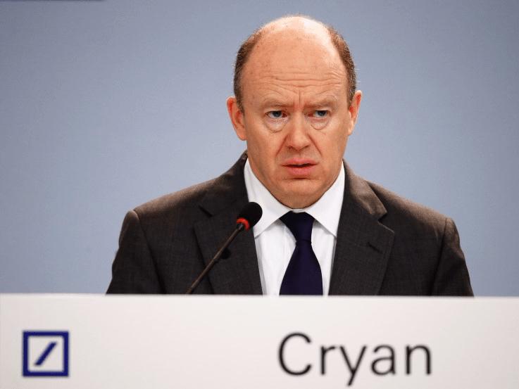 Hasil gambar untuk Deutsche Bank chief hints at thousands of job losses