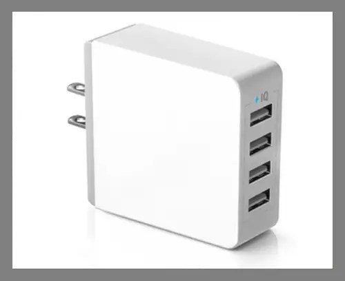 A multi-port USB wall charger