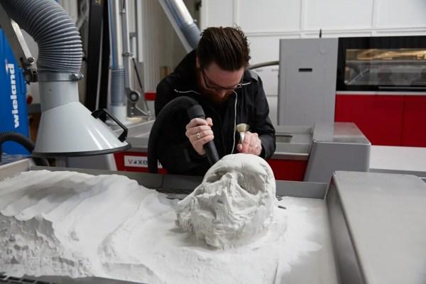 Official melted Darth Vader helmet replica - Business Insider