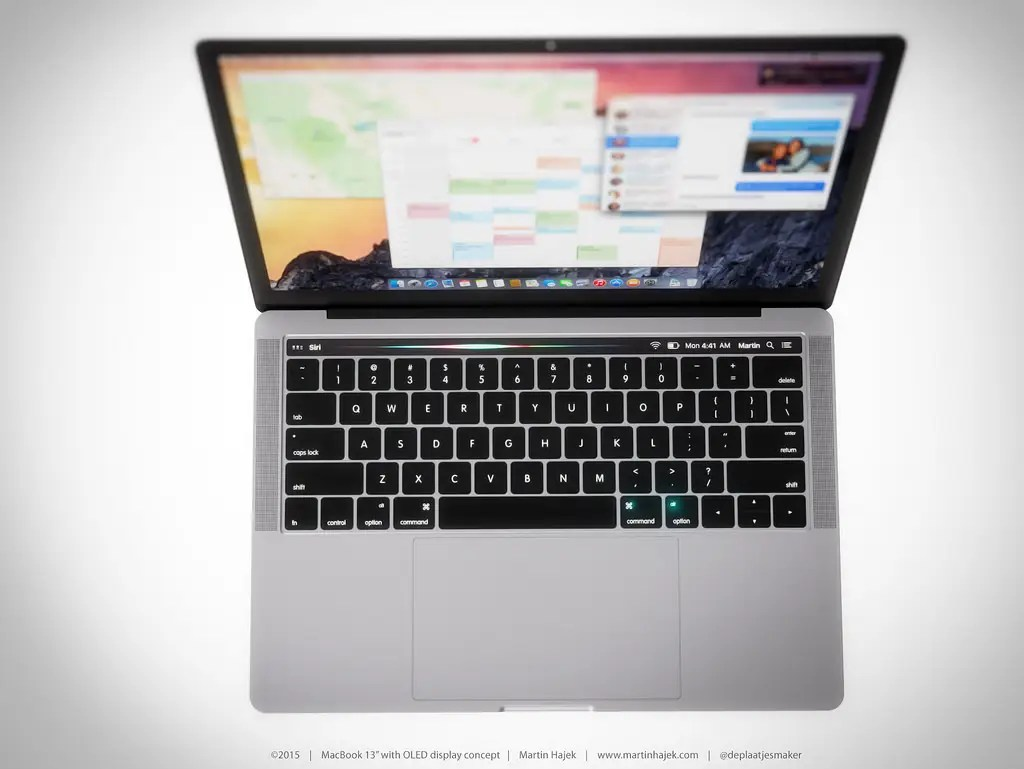 A case leak cutout showed that the function keys were likely to be replaced by a touchscreen. However, there are rumors that the MacBook Pro will have a TouchID fingerprint sensor as well, and that's not depicted in these renders.