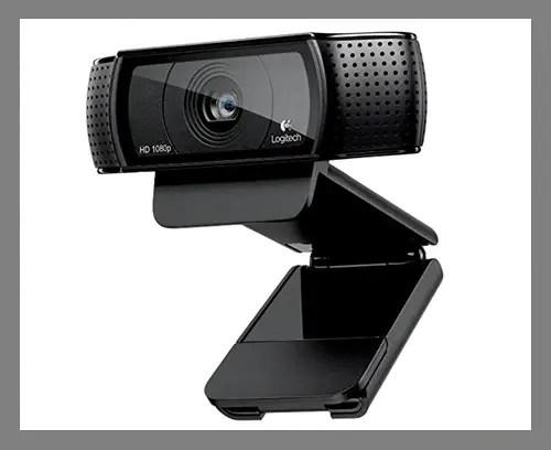 An HD webcam