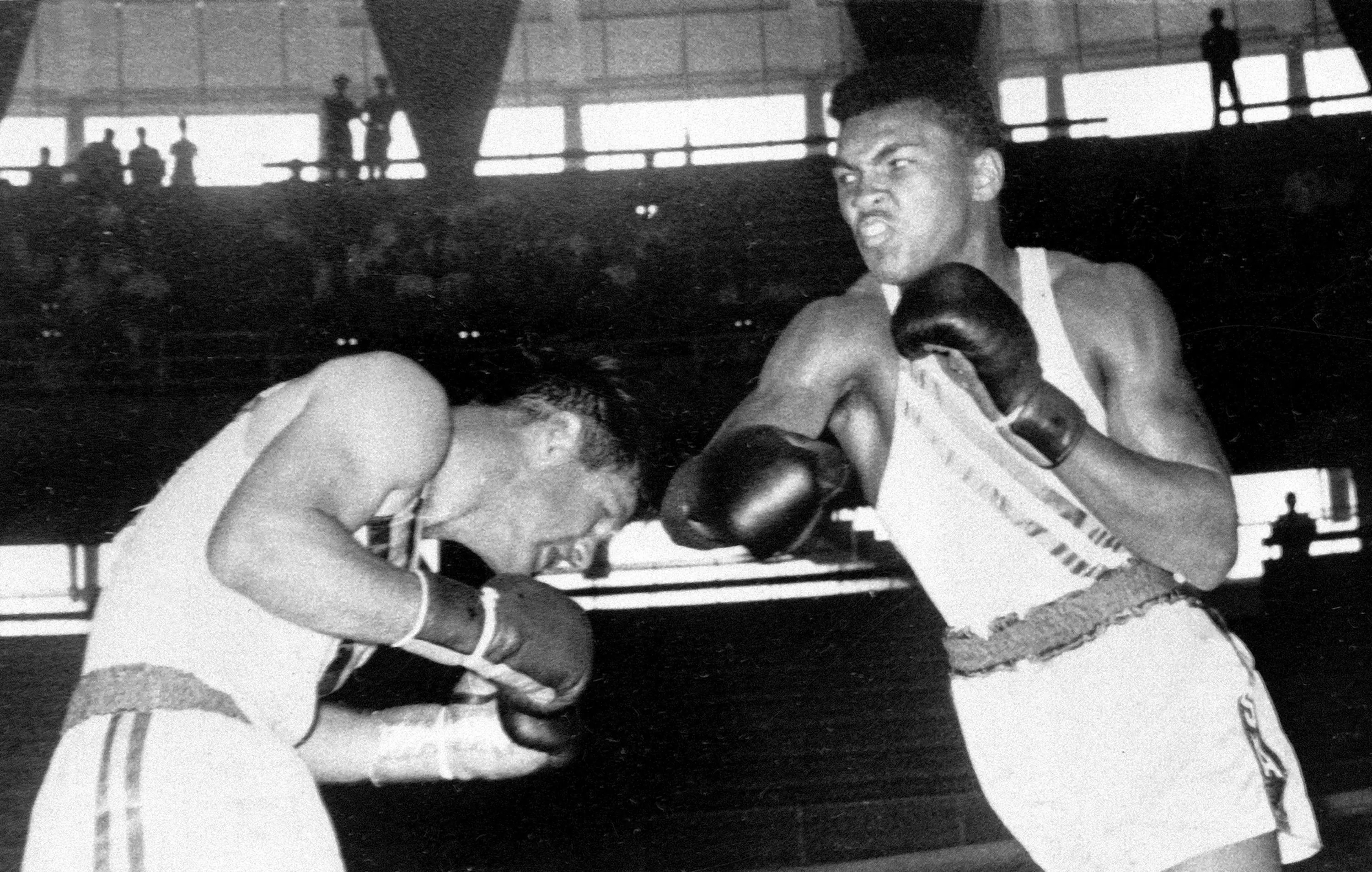 Rome, 1960: An 18-year-old Cassius Clay — later known as Muhammad Ali — from Louisville won gold at the 1960 Olympics before going on to become a world champion. These games were the first to be commercially broadcast and also the first to feature a major doping scandal. Danish cyclist Knud Enemark Jensen collapsed during his race under the influence of Roniacol and died the same day.