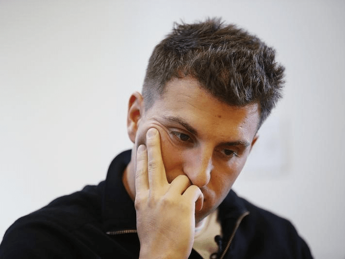Up until recently, Chesky was still renting his couch on Airbnb. But after getting caught flouting a San Francisco law that requires hosts to register with the city, Chesky was forced to take the listing down.
