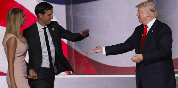 Donald Trump son-in-law held talks about setting up Trump ...