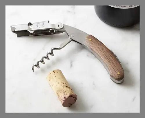 A bottle opener