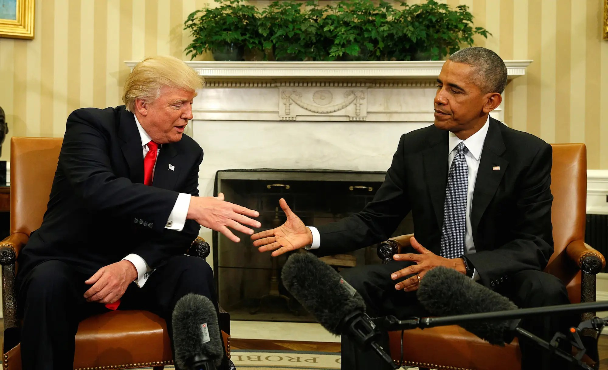 Image result for Photo of Trump and Obama together + free