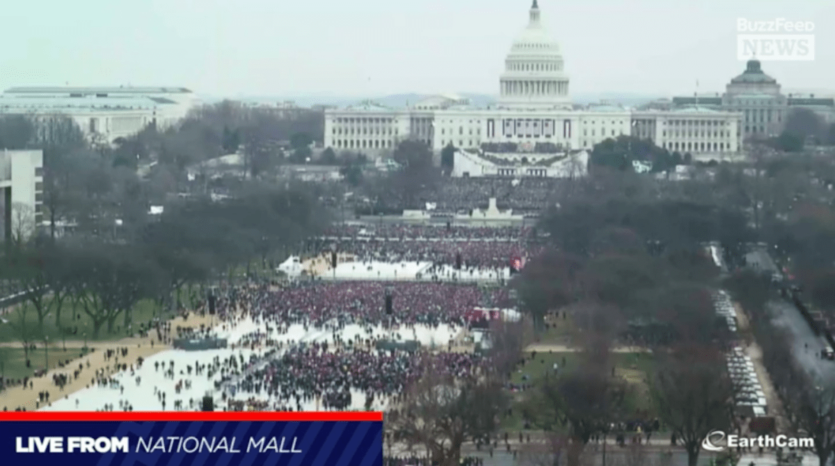 Image result for women's march on washington aerial view