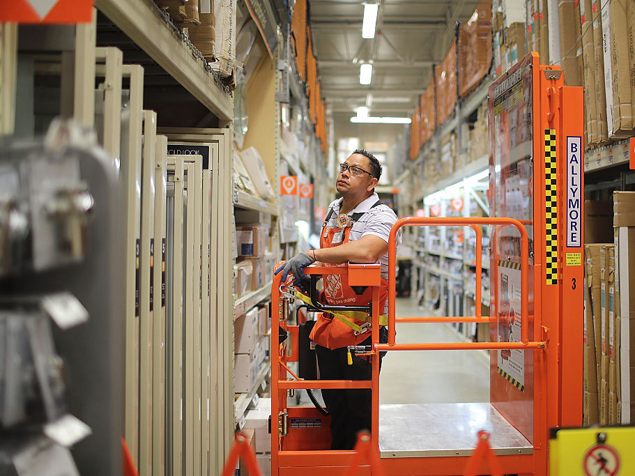 Home-improvement stores like Home Depot and Lowe's