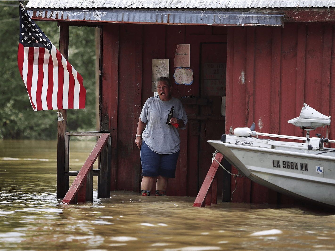 'Louisiana Flooding' — Joe Raedle (United States of America), Professional, Current Affairs