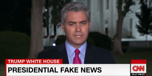 CNN Fake News - trend on web
