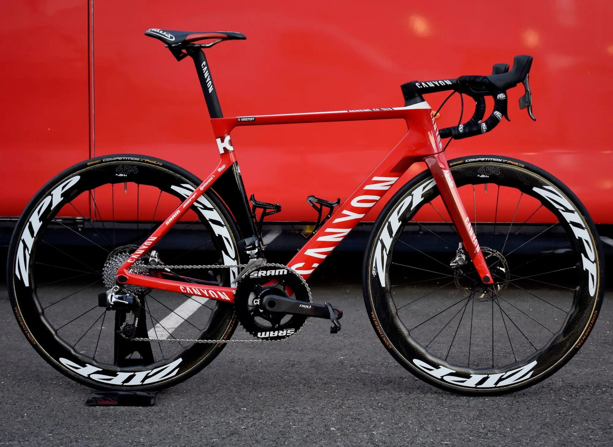 Kristoff Canyon Aeroad CF SLX Disc Tour de France 2017