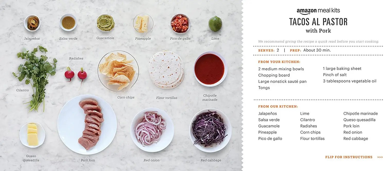 Amazon Meal Kit