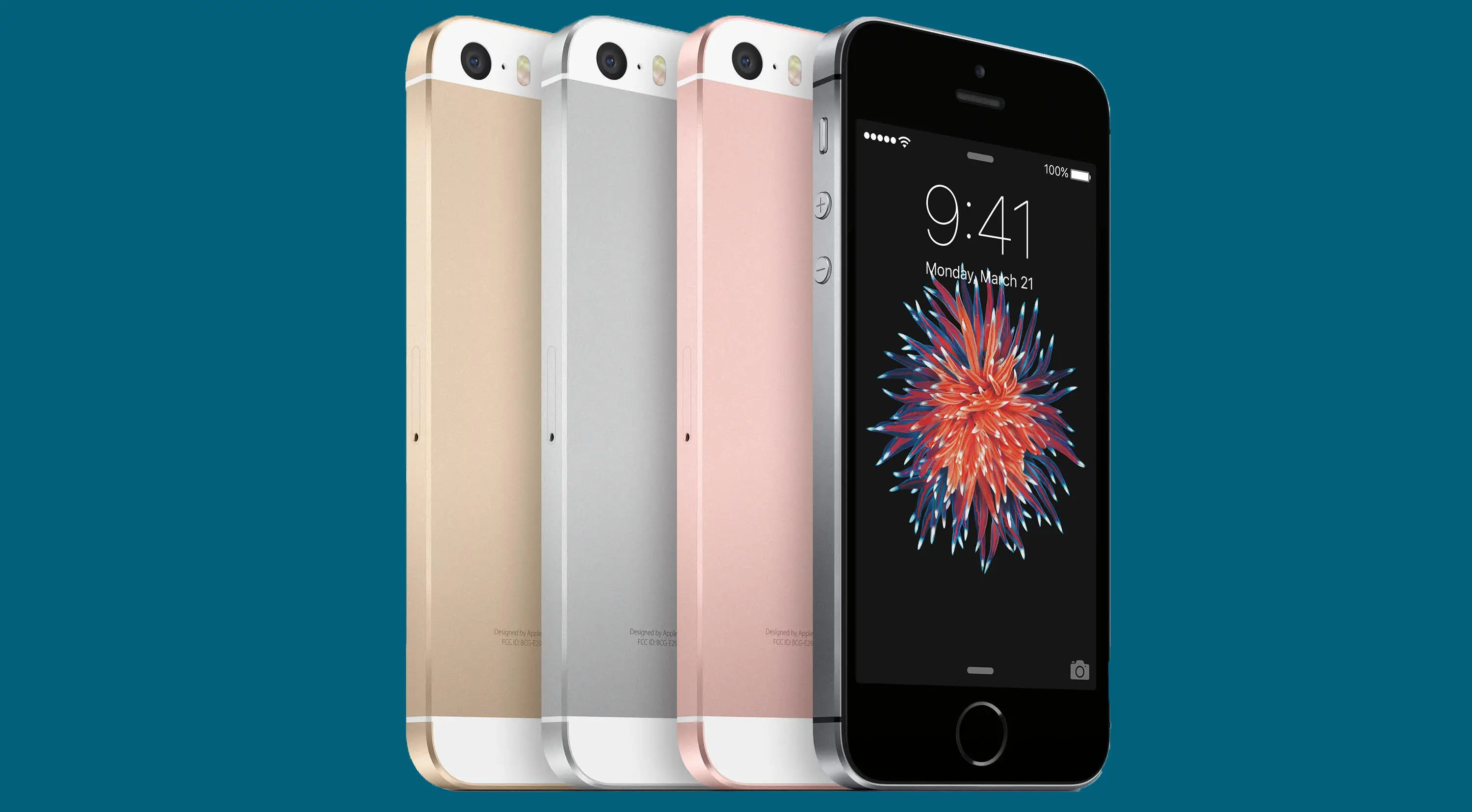 1. The iPhone SE is remarkably affordable at just $350 to start.