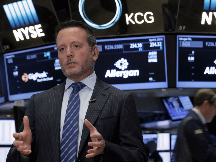 Allergan CEO Brent Saunders Court invalidates Allergan patents, calling patent transfer into question Court invalidates Allergan patents, calling patent transfer into question rtsdv3h