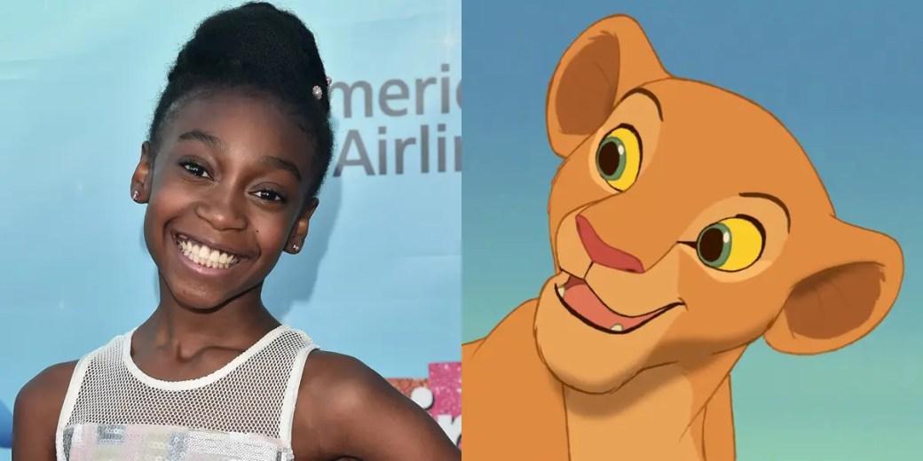 """Shahadi Wright Joseph vai do """"The Lion King"""" da Broadway ao filme de ação ao vivo, que expressa um Nala jovem e resistente."""