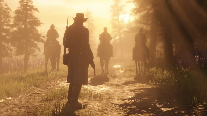 the game is a prequel to the previous game in the series it follows the van der linde gang as they rob fight and steal their way across the vast and rugged heart of america in order to survive - جديد لعبة Red Dead Redemption II 2018