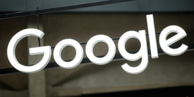 The Google logo is seen at the