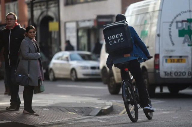 Uber Eats bike London