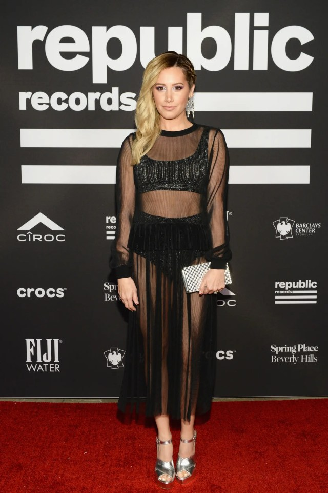 ashley tisdale grammys after party