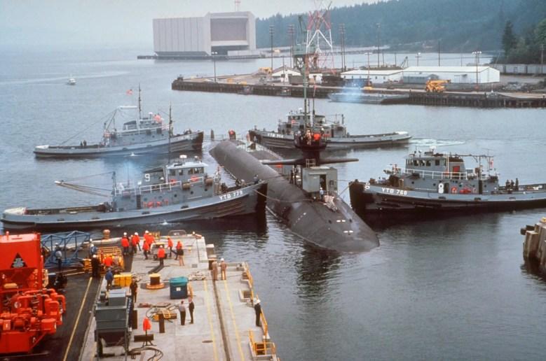 Navy submarine Ohio
