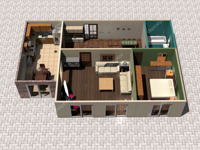 ᐈ 3d Home Design Stock Images Royalty Free 3d House Photos Download On Depositphotos